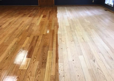 Dining Room Floors Refurbished
